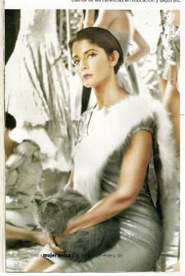 Lucía Collado en Mujer única de DIC 2007 - ENE 2008