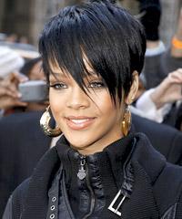 Qué el pelo corto no es versatil?:   Para muestra Rihanna