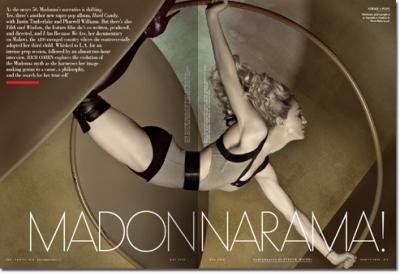 Madonna en Vanity Fair de Mayo