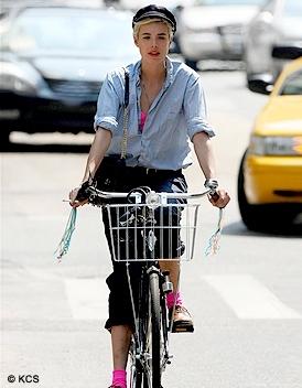 La moda de la bicicleta...