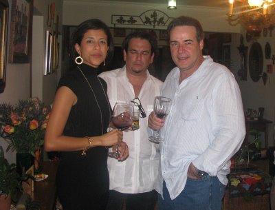 12/12 - Los esposos Kathleen Rodriguez y Juan Basanta