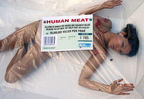 PETA - Flesh by Arturo de Albornoz.