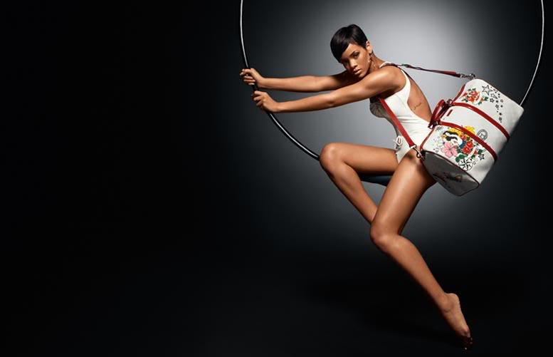 Gucci Tattoo Heart collection for UNICEF starring Rihanna