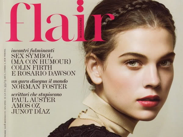 Milkmaid braid hair trend in Flair Magazine