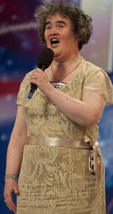 YouTube success: Susan Boyle on Britain's Got Talent