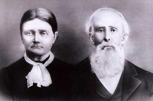 Louisa Eliza Stroup Dunham and Jacob Mackey Dunham are the candidate's great-great-great grandparents.