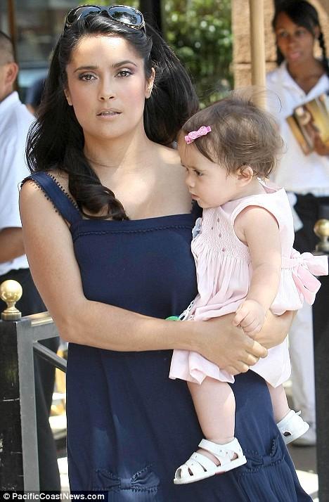 Salma Hayek and her daughter Valentina