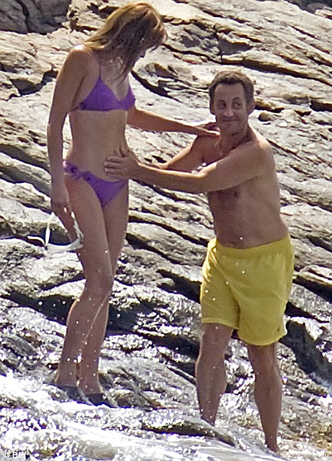 Bruni and Sarkozy